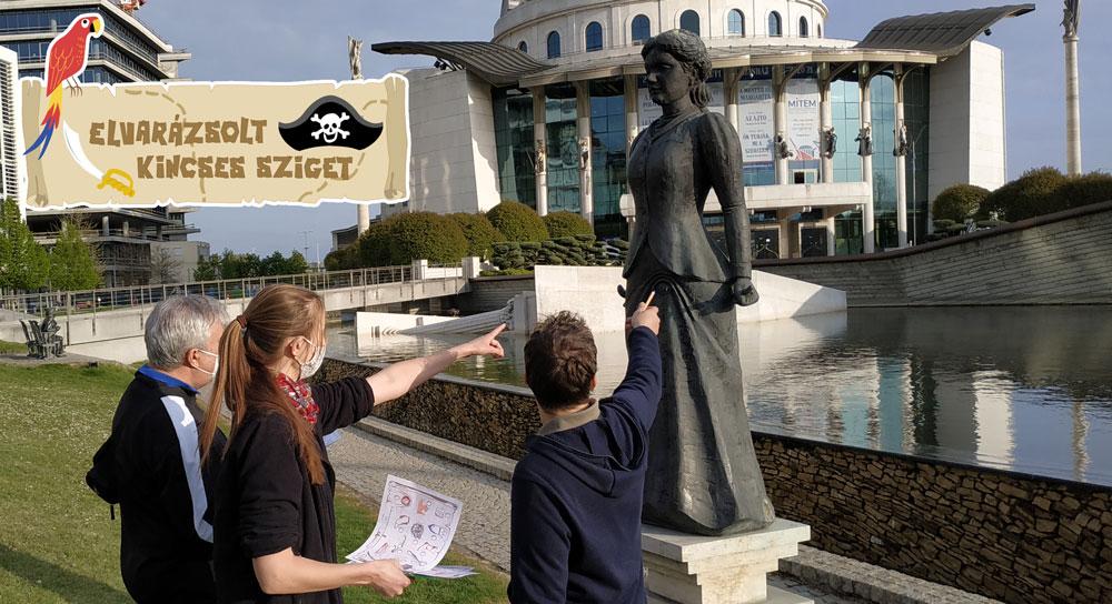Budapesti kincskereső program - Kincses Sziget