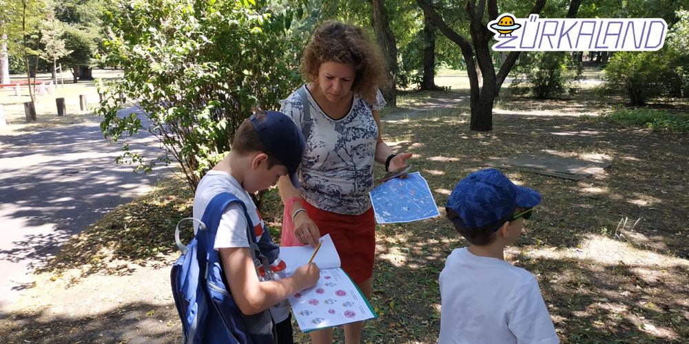 Kincskereső játék gyerekeknek a Népligetben - Zűrkaland - Együtt a család